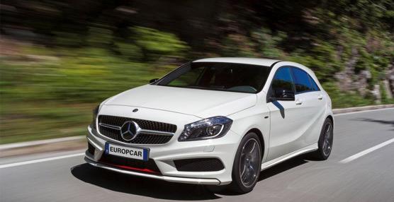 Europcar amplía su oferta de alquiler de vehículos con la incorporación del nuevo Mercedes-Benz Clase A