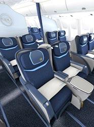 Condor renueva las cabinas de sus vuelos de larga distancia con nuevos asientos y otras comodidades