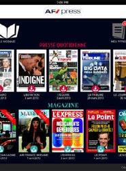 Air France presenta, de momento para el mercado francés, una nueva aplicación de prensa digital para iPad