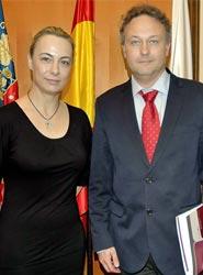 Sonia Castedo y José Luis Gil.