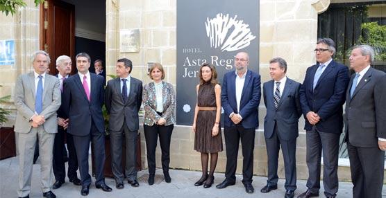 Se inaugura el Hotel Asta Regia, ubicado en el centro de Jerez, con la presencia de la alcaldesa de la ciudad