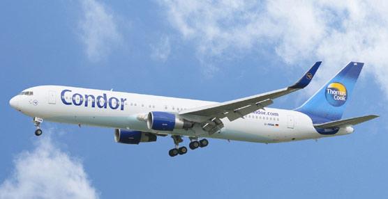 Thomas Cook fusiona Condor Flugdienst con su filial Condor Berlín para aumentar sinergias y reducir costes
