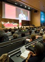 Zaragoza acogió multitud de congresos en 2012.