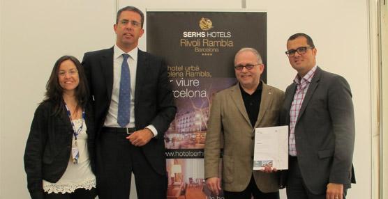 El Hotel Serhs Rivoli Rambla será el primer hotel Chinese Friendly de Barcelona, tras la firma de un acuerdo