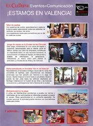 La agencia Es.cultura abre una nueva oficina en Valencia con sus servicios para eventos, incentivos y comunicación