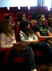 Alumnos de la EIP Barcelona visitan las instalaciones de la empresa de organización y producción de eventos Servis Group
