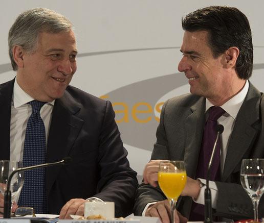 Antonio Tajani elogia la colaboración de la Unión Europea y España para 'crear nuevas reglas de visados para Rusia y China'