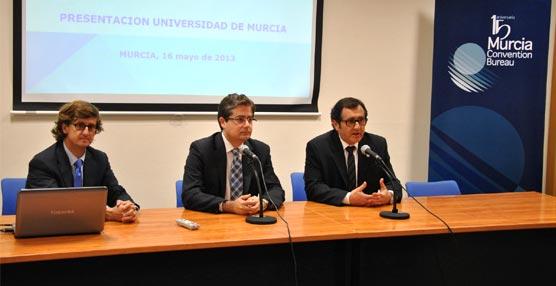La Oficina de Congresos de Murcia muestra a profesores universitarios los recursos de la ciudad para acoger reuniones