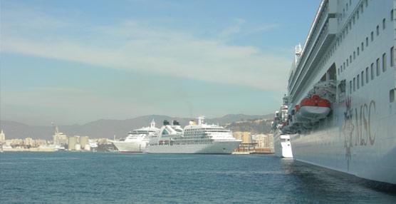 El Turismo de cruceros generó en 2012 un impacto económico de más de 56 millones de euros en la provincia de Málaga