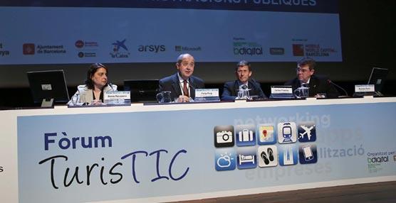 El Turismo y la tecnología se unen en el Fórum TurisTIC de Barcelona para establecer líneas de innovación en este Sector