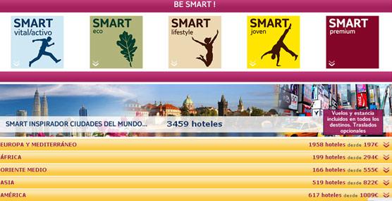 TUI Spain continúa con la renovación de su 'web', introduciendo cinco nuevos Smart inspiradores de viaje
