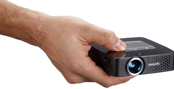El nuevo proyector de bolsillo de Philips permite conectarse a Internet y mostrar cualquier contenido multimedia