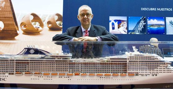 González reconoce que 'en lo que se refiere al precio, se ha perdido muchas veces la perspectiva' en el sector de los cruceros