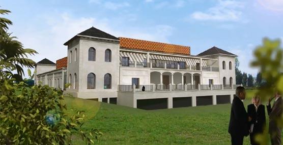 Imagen virtual del Palacio de Congresos de La Faisanera.