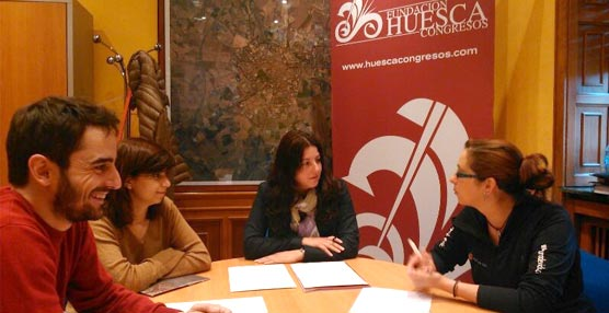 Huesca Congresos organiza para sus socios su primer 'networking' para conocerse mejor e intercambiar ideas y contactos