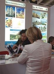 La Oficina de Congresos de Murcia acude a Frankfurt para presentar su oferta para la celebración de eventos