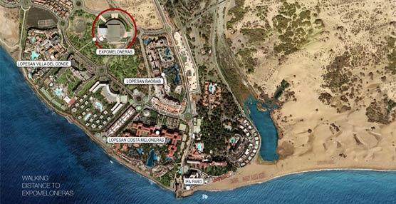 Lopesan Hotel Group llevará a Gran Canaria más de 10.000 participantes en eventos durante los próximos 12 meses