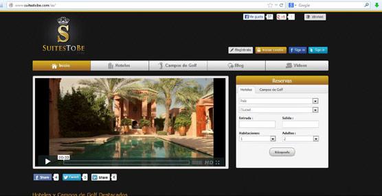SuitesToBe es la nueva división de Neyzen enfocada a la comercialización online de hoteles y 'green fees'