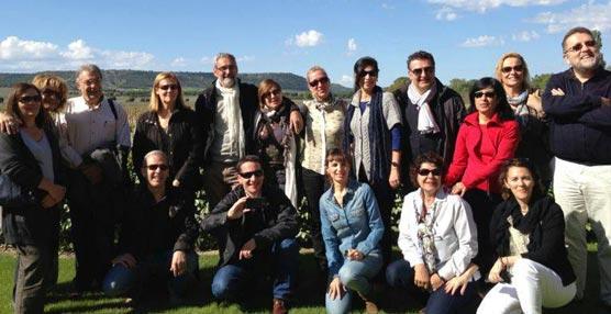 Un grupo de 'travel managers' conoce en un 'fam trip' la oferta turística y congresual de la provincia de Valladolid