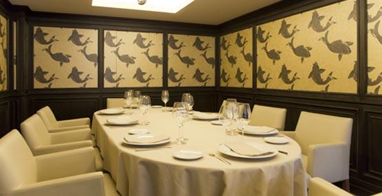 El restaurante Ponteareas de Madrid abre sus distintos espacios a la celebración de pequeños eventos de empresa
