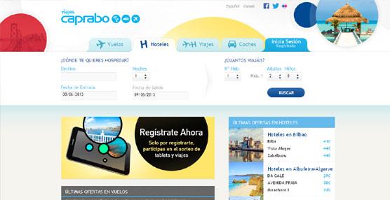 Caprabo entra en el negocio de la distribución de viajes con el lanzamiento de la página 'web' 'www.viajescaprabo.es'