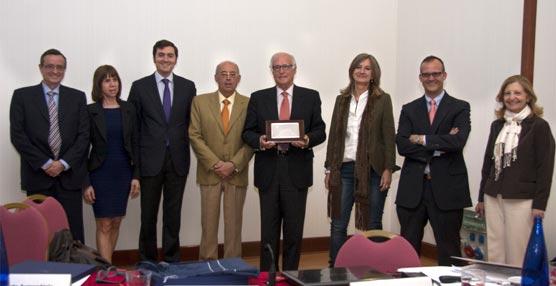 OPC Madrid homenajea a Carlos de Sebastián, fundador de la asociación y también de OPC España