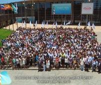 Casi 1.000 congresistas participan en un congreso farmacéutico en un ExpoMeloneras adaptado a sus necesidades