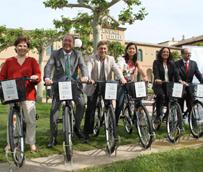 Cuatro establecimientos hoteleros de Caldes de Malavella se unen a la iniciativa de 'bicing' solidario de Cáritas Diocesana de Girona