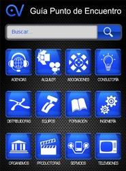La Guía Punto de Encuentro, directorio de empresas audiovisuales en España, ya está disponible para móviles
