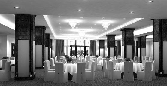El hotel Intercontinental Madrid renueva este verano uno de sus salones más emblemáticos: El Granados