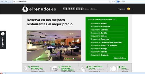 Los 93 restaurantes de la red de Paradores pueden reservarse de manera 'online' a través de Eltenedor.es