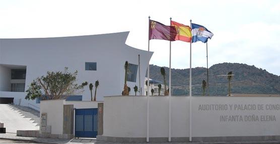 El Ayuntamiento de Águilas ofrece una plaza de becario en el Auditorio y Palacio de Congresos 'Infanta Doña Elena'