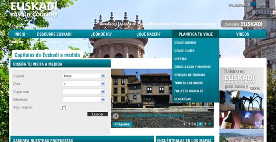 El Gobierno vasco adjudica a Viajes Azul Marino la gestión de su 'portal' de reservas con la oferta de la Comunidad