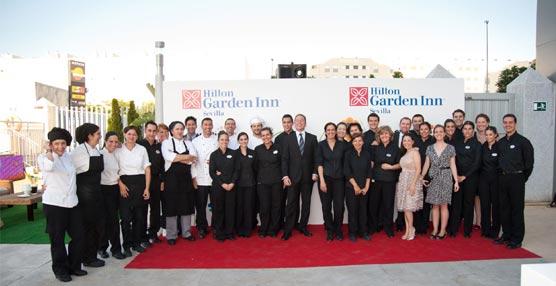 El hotel Hilton Garden Inn Sevilla celebra su apertura oficial con una fiesta que ha contado con más de 200 invitados