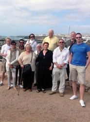 Un grupo de profesionales internacionales del Sector MICE conocer la oferta congresual y de incentivos de Fuerteventura