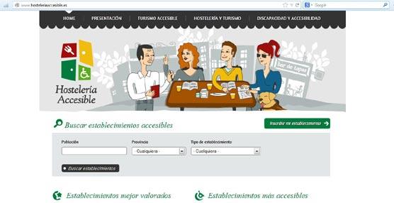 Crean una web para conocer los locales más accesibles impulsada por la FEHR, la ONCE y su Fundación