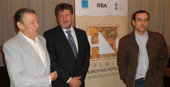 Una obra conjunta de Luis Racionero y su hijo Alexis gana el IX Premio Eurostars Hotels de Narrativa de Viajes
