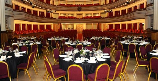 El Teatro Pérez Galdós, en Las Palmas, estrena su escenario como marco para celebraciones profesionales