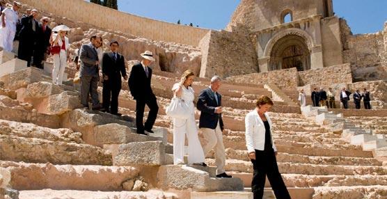 Los cruceros y el Turismo de Congresos hacen aumentar significativamente la visitas al Teatro Romano de Cartagena