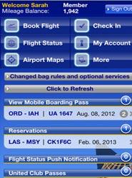 United Airlines añade nuevas funcionalidades a su aplicación de móvil para facilitar el viaje a sus pasajeros