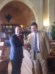 El granadino Hotel Alhambra Palace y Bere Casillas colaboran en la organización de bodas