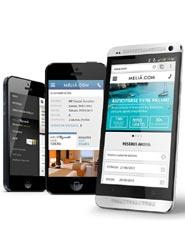 Meliá Hotels International presenta una 'web' para dispositivos móviles que mejora la experiencia del usuario