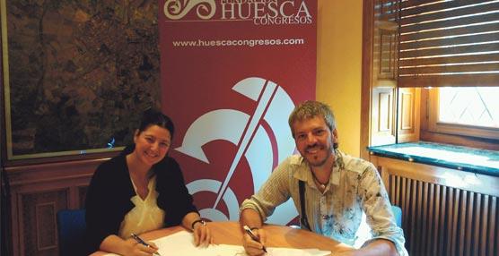 Planeta 40, empresa de 'outdoor training', se incorpora como nuevo miembro de la Fundación Huesca Congresos