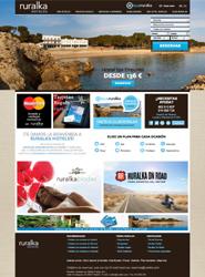 Ruralka presenta su nueva web, con reservas en tiempo real, nuevos mapas y búsquedas y una tienda online