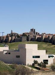 Una pasarela peatonal unirá el mirador de los Cuatro Postes de Ávila con el Centro de Congresos Lienzo Norte