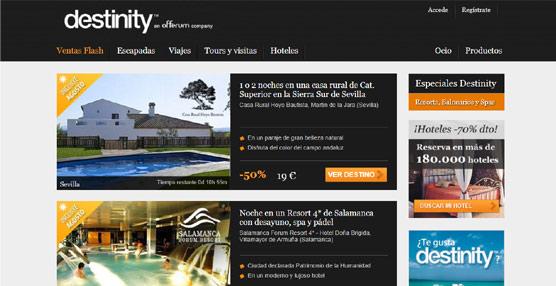 Offerum busca consolidar su posición en el mercado de los viajes con la adquisición del 'portal' Destinity