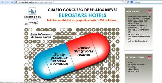 Grupo Hotusa convoca el IV Concurso de Relatos Breves Eurostars Hotels, con 3.000 euros para el ganador