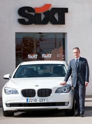 Sixt alcanza un beneficio neto de 40 millones de euros en el primer semestre, casi un 8% menos que en 2012