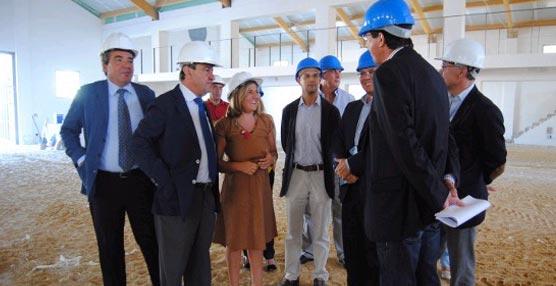 Las obras de construcción del Centro de Convenciones y Congresos de Sanlúcar podrían finalizar en octubre
