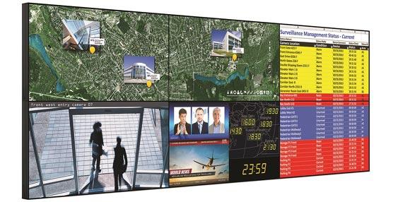 El nuevo panel plano Christie FHD461-X ofrece imágenes vibrantes y nítidas en videowalls casi sin separaciones